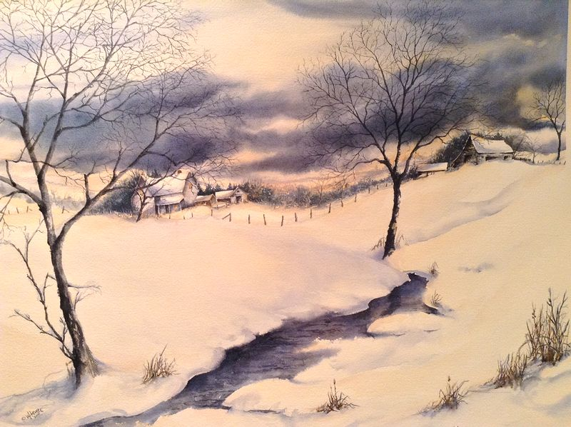 Watercolor Intent by Wanda Hawse