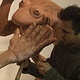 Working on clay by Forest Boone