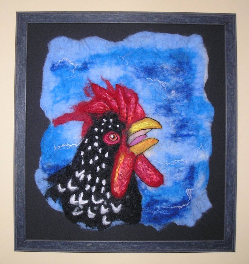 Rooster by Valerie Johnson