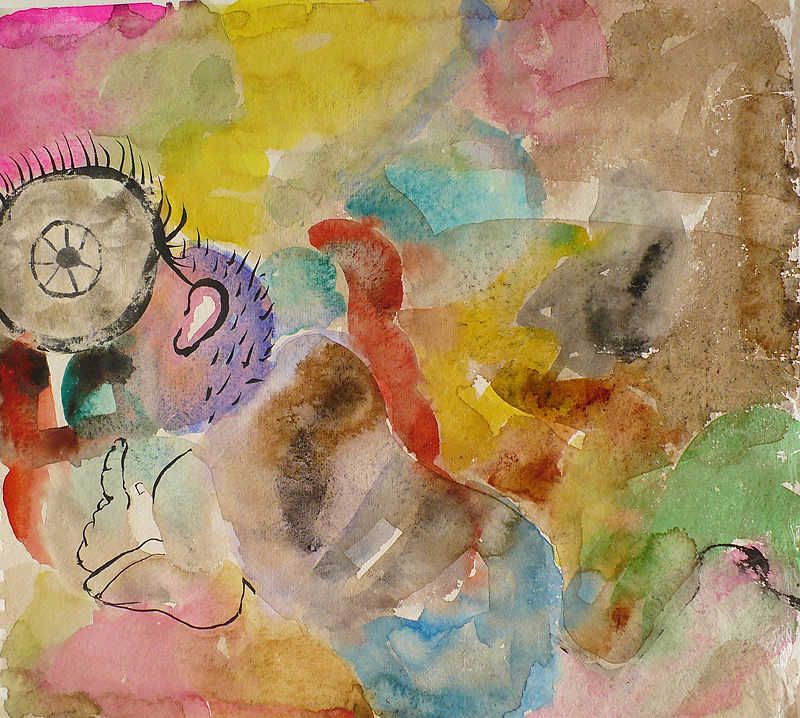 Watercolor Untitled by Judy Southerland