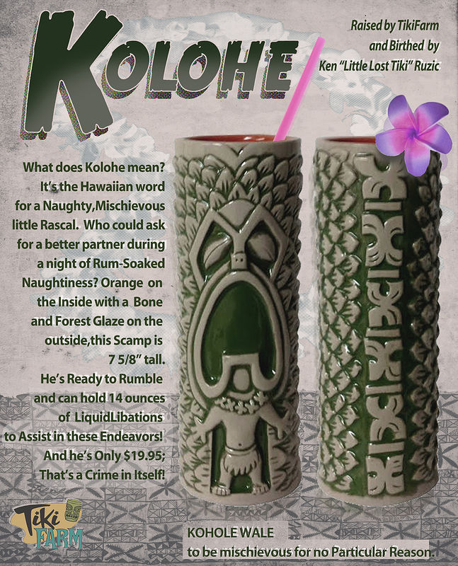 Kolohe mug by Kenneth M Ruzic