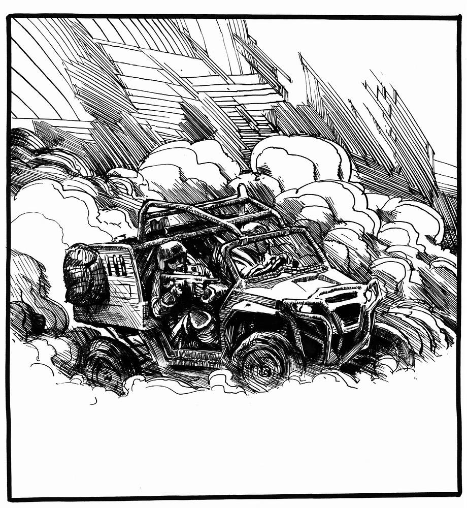 Drawing Doom Buggy by Hendrik Gericke