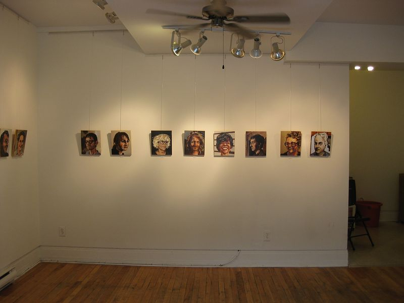 Installation view by Graham Hall