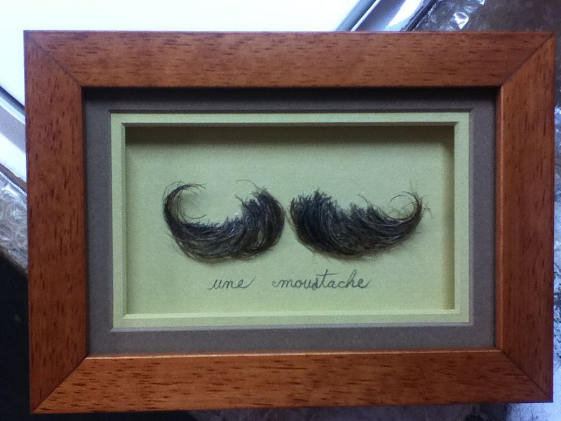 Une Moustache by Graham Hall