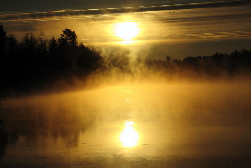 #YUL15 - Sunrise over Gatineau River by Ivan Petrov