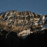 #YVR4 - Mount Lefroy in Moonlight by Ivan Petrov