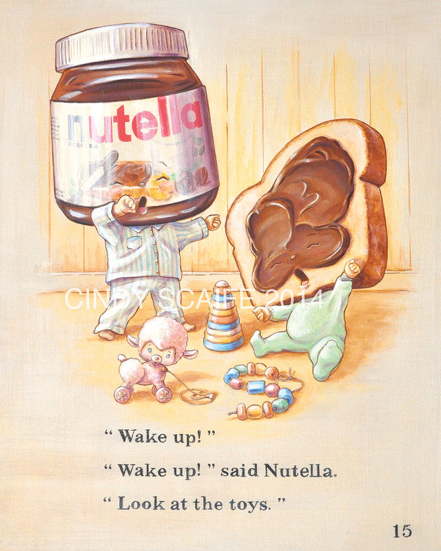 NUTELLA by Cindy Scaife