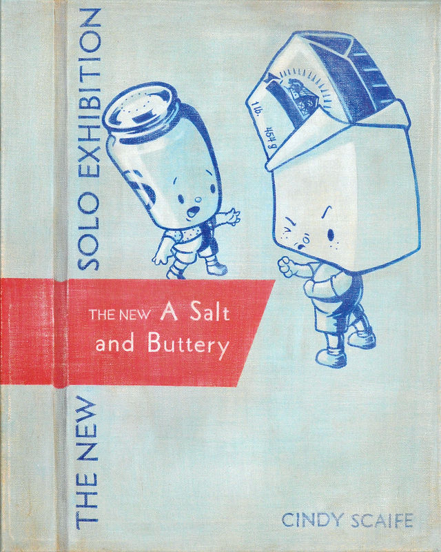 A SALT AND BUTTERY BOOK COVER by Cindy Scaife