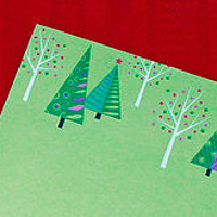 Drawing Christmas Stationery for Great Papers by Valerie Lesiak