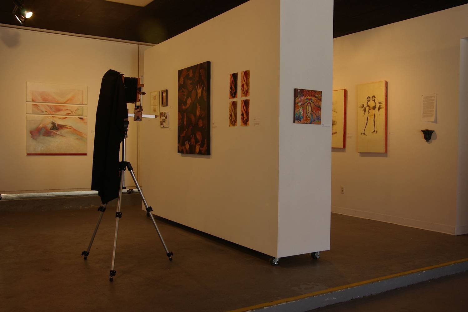 East View of Exhibition by Micky Renders