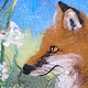 Fox Portrait by Valerie Johnson
