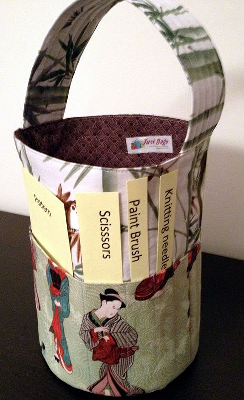 Craft Bucket Tote by Vicki Allesia