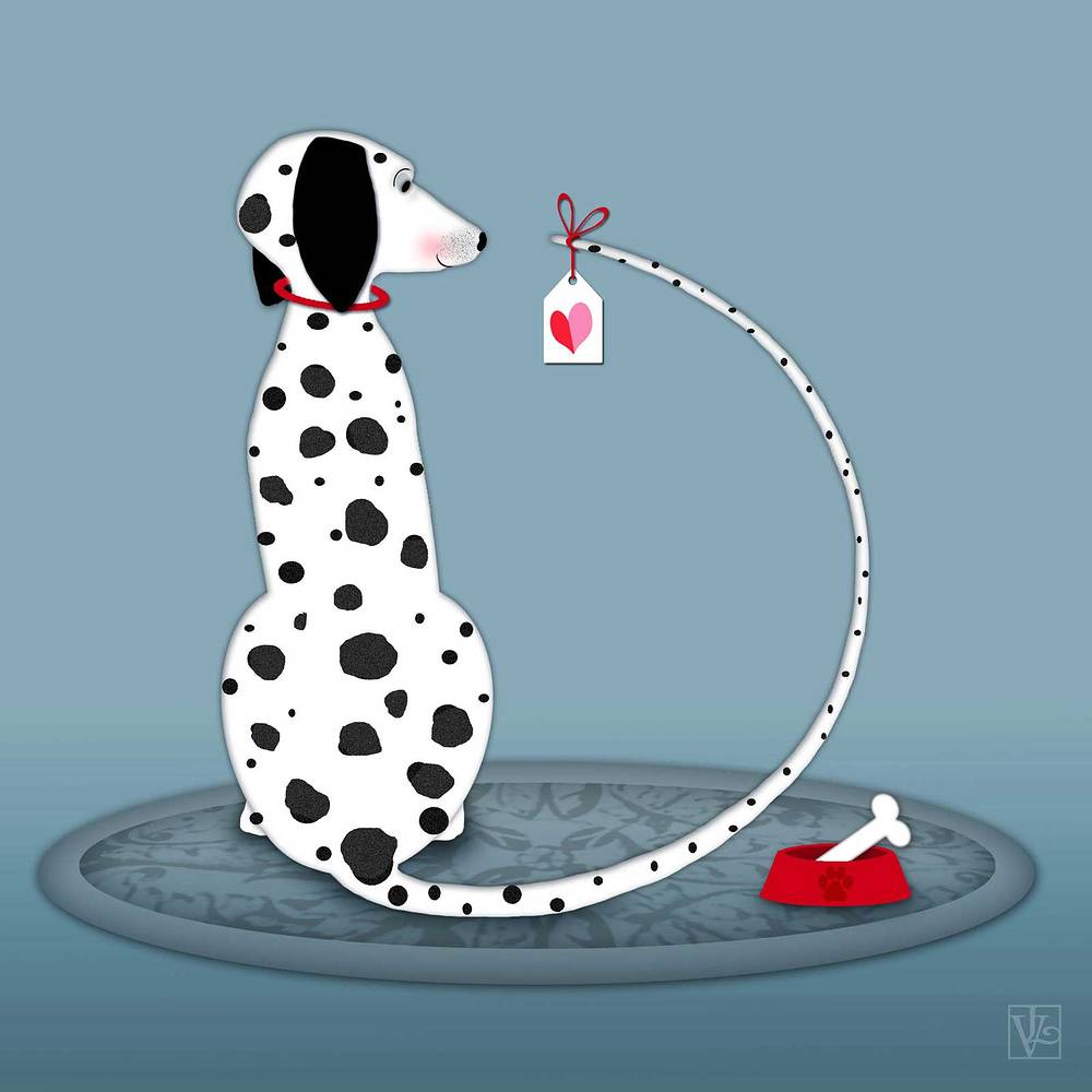 The Letter D is for Dalmatian by Valerie Lesiak