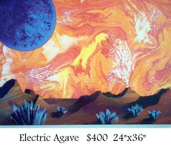 electric agave by Isaac Carpenter