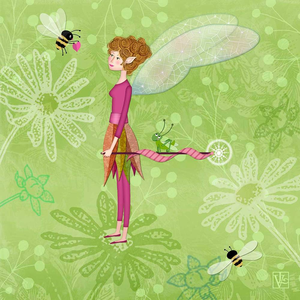 F is for Fairy by Valerie Lesiak