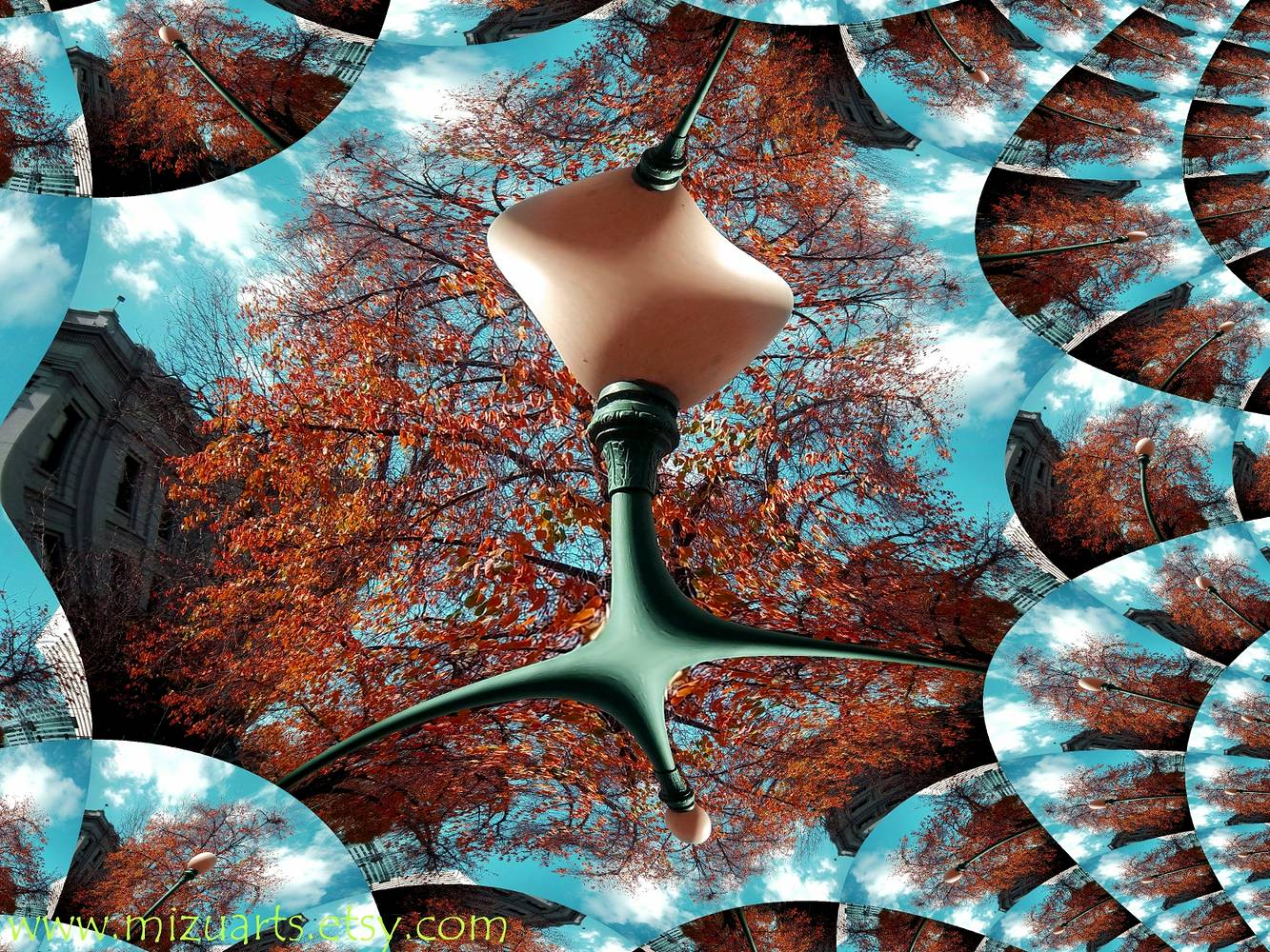 The Lamp Fractal by Isaac Carpenter