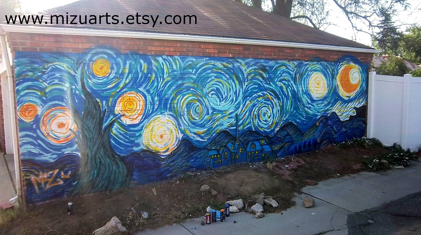 Starry Night by Isaac Carpenter