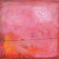 Acrylic painting Sun Kissed by Sally Adams