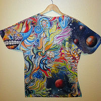 Chameleon Shirt Back by Isaac Carpenter