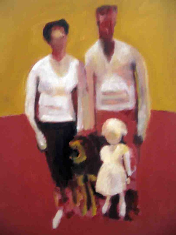 Swiss Family Rey Before the Brothers,2007 by Edith dora Rey
