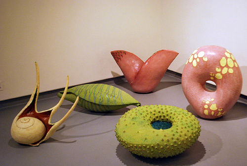 "Select pieces from ""animal vegetable mineral,"" 2009. by Eva Champagne"