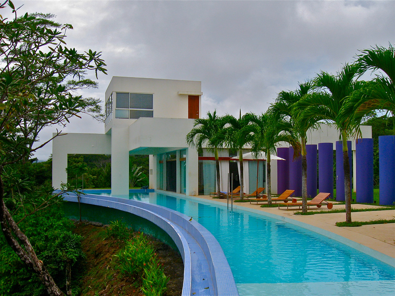 VILLA IN MONTEZUMA, COSTA RICA by Joeann Edmonds-Matthew