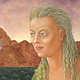 The Creatress, oil on canvas, 18 x 24 in, ©2012 Laurey Foulkes by Laurey  Foulkes