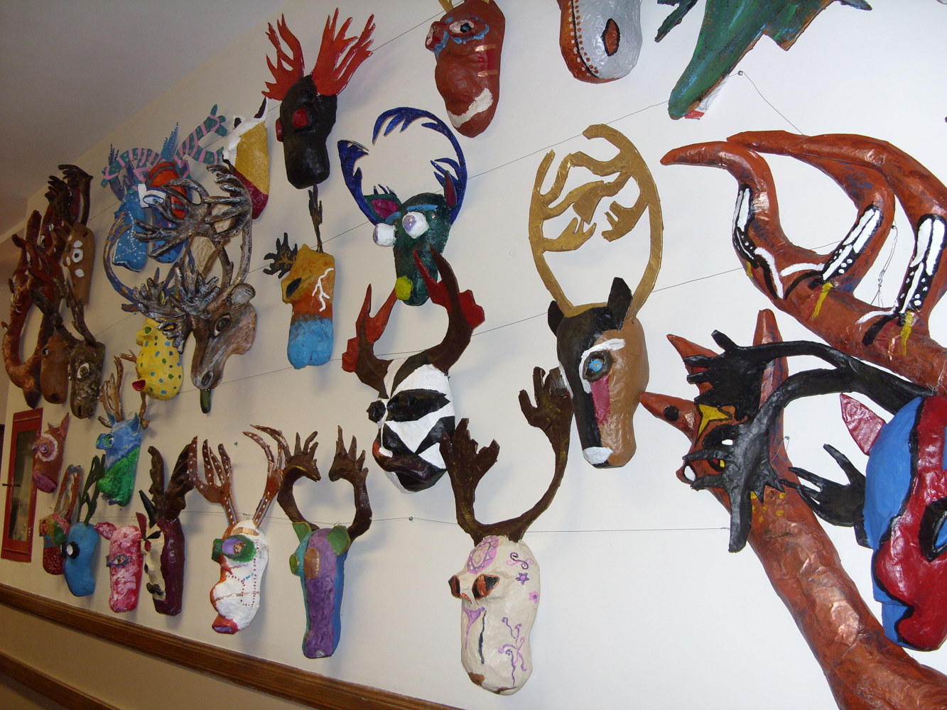 Run with the Caribou Project - Exhibit - Native Canadian Centre by Pamela Schuller