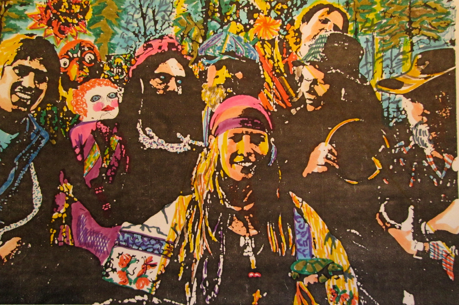 'Woodchucks of Babylon' O'L Timey String Band by Frederica  Hall