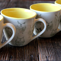 Owl Mugs by Jocelyn Duchek
