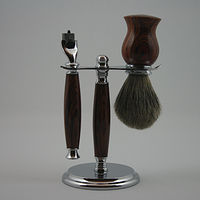Photography Cocobolo Razor Set  by Jocelyn Duchek
