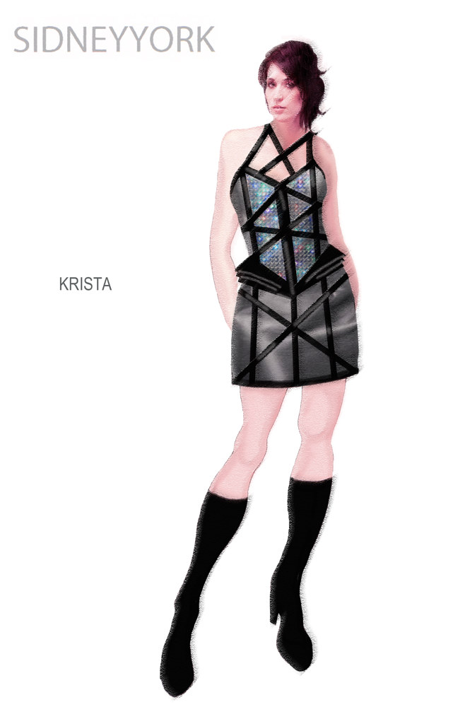 Krista - Concept sketch by Angela Dale
