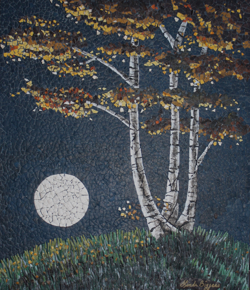 Moon Rise by Linda Biggers