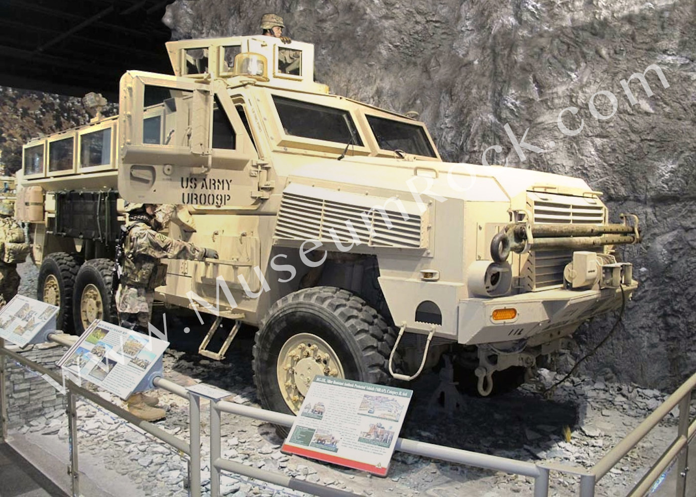US Military Museum Artificial Rock Panels For Sale - Museums for sale in us