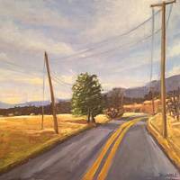 Oil painting 810 to Crozet by Sarah Trundle