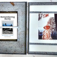 Drawing Remembering Richly Folio, Edition of 3 (Blue) by Julie Mcintyre