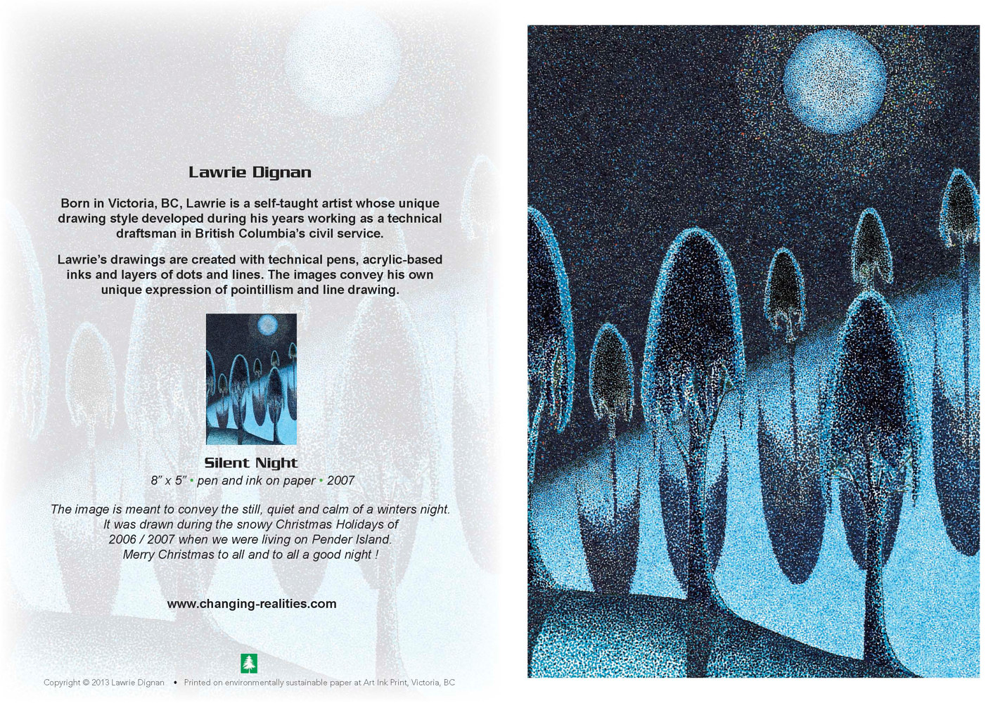Silent Night by Lawrie  Dignan