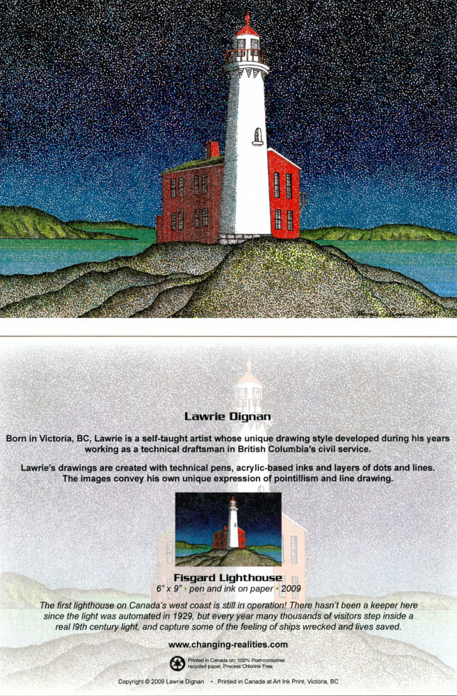 Fisgard Lighthouse by Lawrie  Dignan