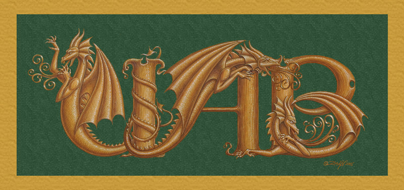 Print UAB Dragons by Sue Ellen Brown