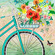 Bicycle Bouquet by Valerie Lesiak