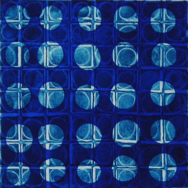 Circle Grid #5 by Mary Crockett