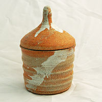 Covered jar 4 by Jack Caselles