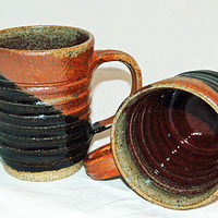 Brown black cups by Jack Caselles