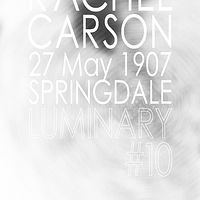 Photography Luminary #10, Rachel Carson by Amarie Bergman