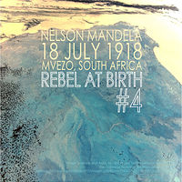 Photography Birth of a Rebel #4, Nelson Mandela by Amarie Bergman