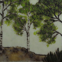 Three Trees by Claudia Whitten
