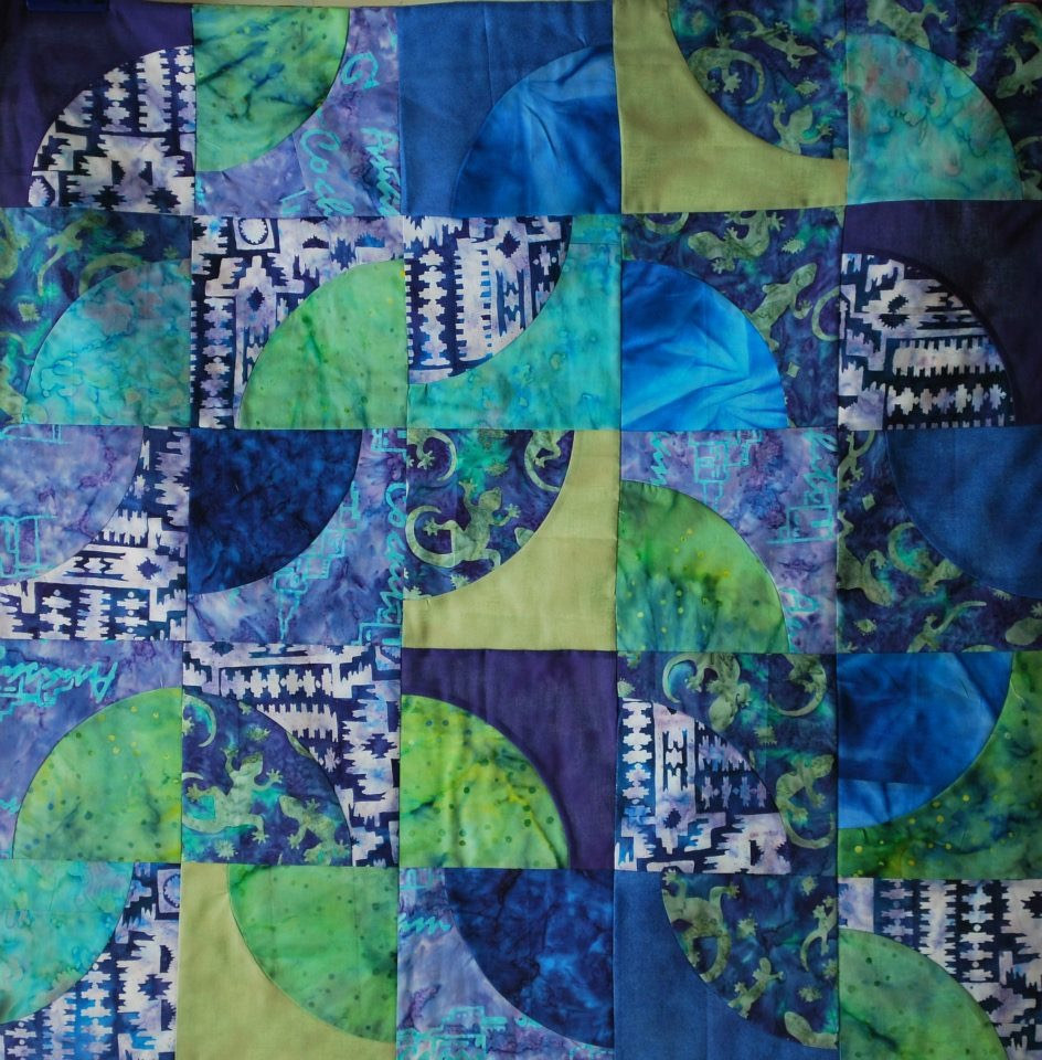 Curve Piecing - May workshop by Maday Delgado