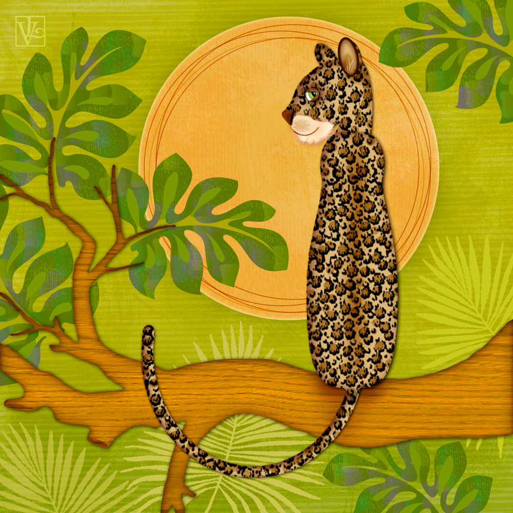 J is for Jaguar  by Valerie Lesiak