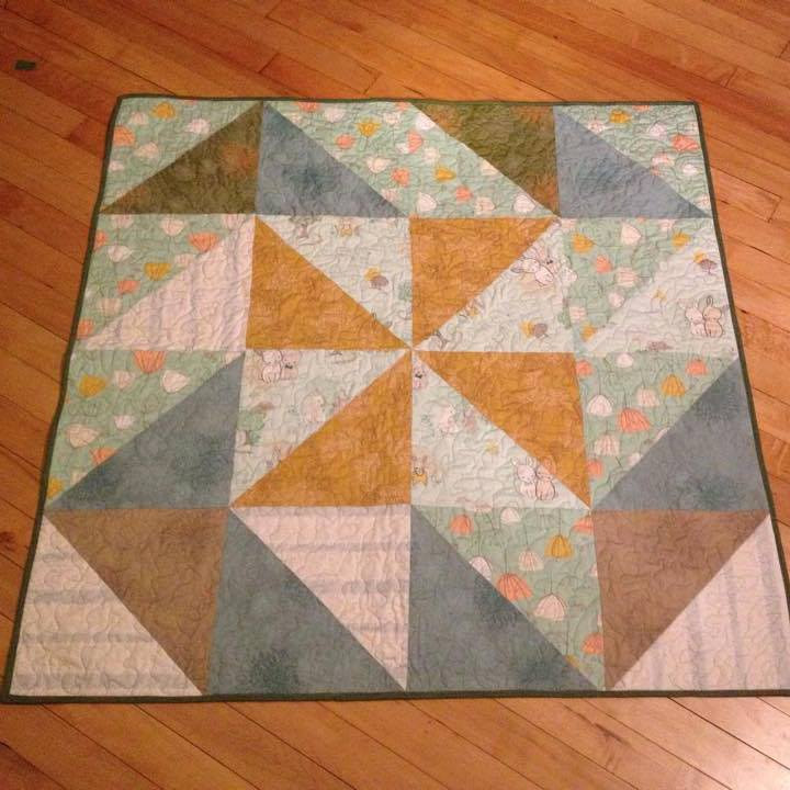 Baby Quilt by Maday Delgado