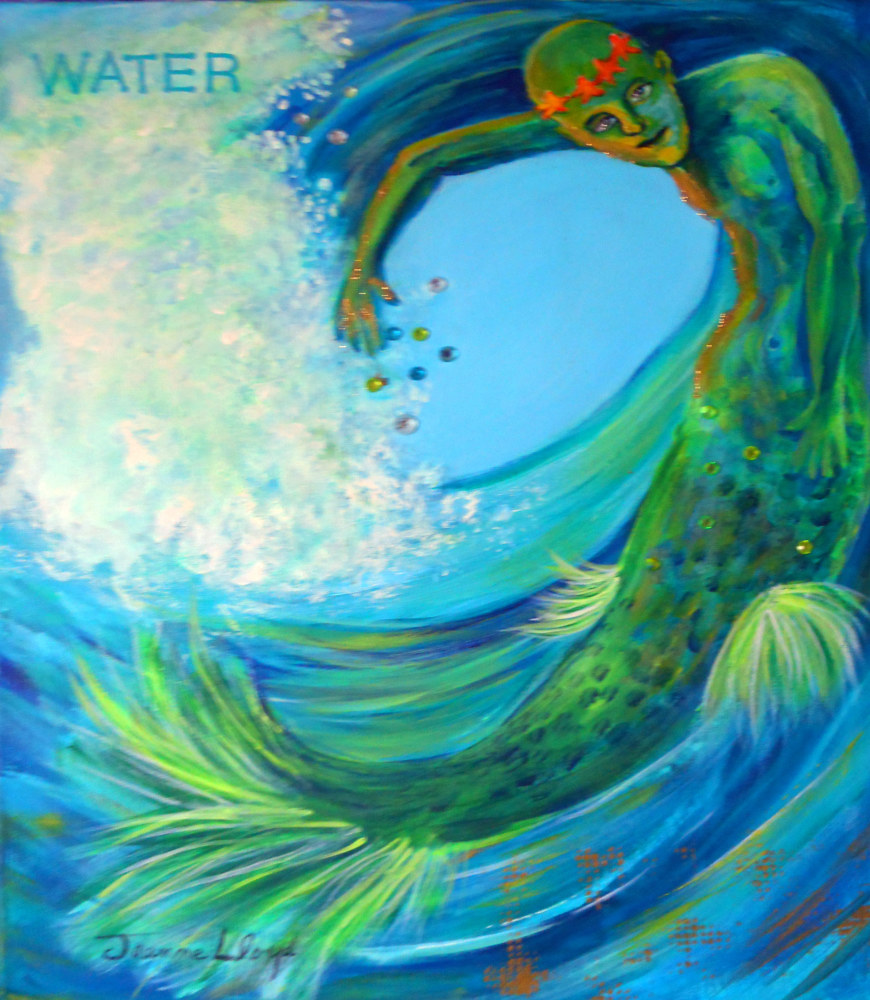 WATER by Jeanne Lloyd